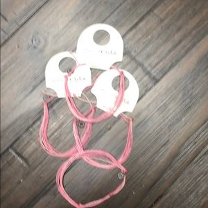 4 pura vida breast cancer bracelets